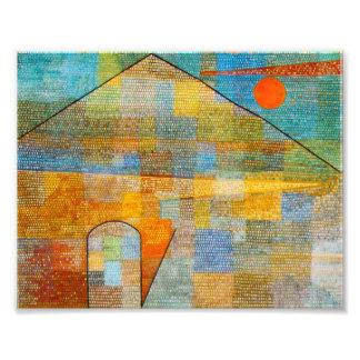Paul Klee Ad Parnassum Print Photographic Print