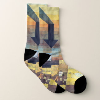 Paul Klee - Affected Place Art Socks 1