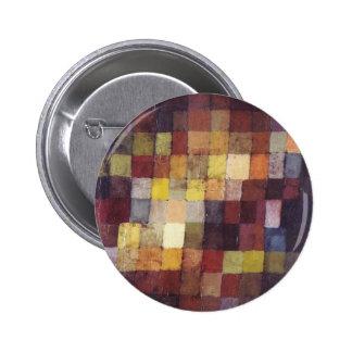 Paul Klee Art 6 Cm Round Badge