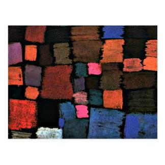 Paul Klee art, Coming to Bloom Postcard