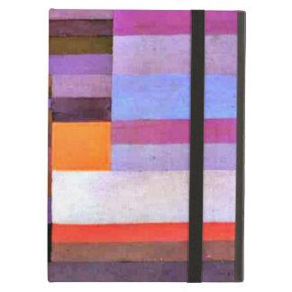 Paul Klee art: Fire Evening iPad Air Cover