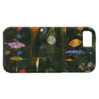 Paul Klee art: Fish Magic, famous Klee painting iPhone 5 Cases