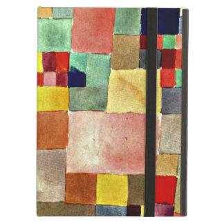 Paul Klee art: Flora on Sand, famous painting iPad Air Case