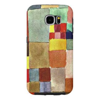 Paul Klee art, Flora on Sand Samsung Galaxy S6 Cases