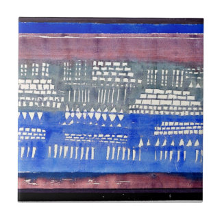 Paul Klee art: Foundations of K Ceramic Tile