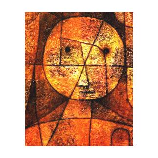 Paul Klee art - Gauze Canvas Print