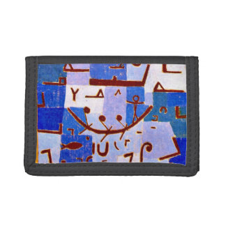 Paul Klee art: Legend of the Nile Trifold Wallet