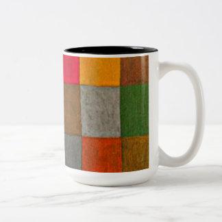 Paul Klee art: New Harmony, Klee painting Two-Tone Mug