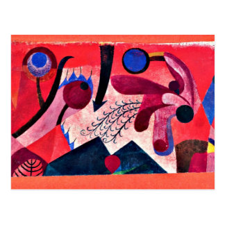 Paul Klee art: Poisonous Berries Postcard