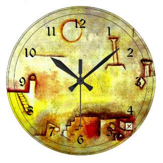 Paul Klee art: Reconstructing Large Clock