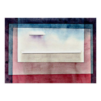 Paul Klee art: Resting, painting by Paul Klee Poster