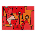 Paul Klee artwork, Heat Poster