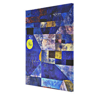 Paul Klee artwork, Moonlight Canvas Print