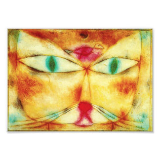 Paul Klee Cat and Bird Photo Print