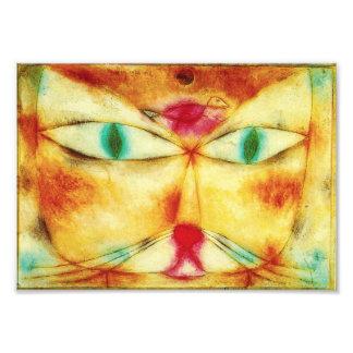 Paul Klee Cat and Bird Photo Print