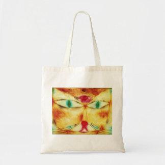 Paul Klee Cat and Bird Tote Bag