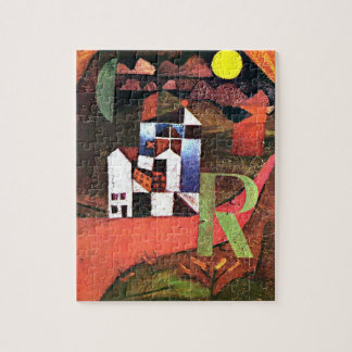 Paul Klee - City of R Jigsaw Puzzle
