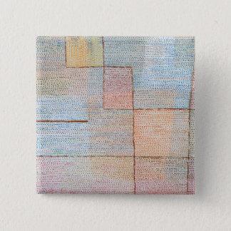 Paul Klee Clarification 15 Cm Square Badge