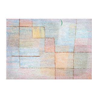 Paul Klee Clarification Canvas Print