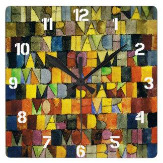 Paul Klee Clocks
