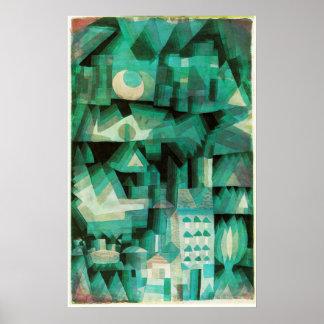 Paul Klee Dream City Poster