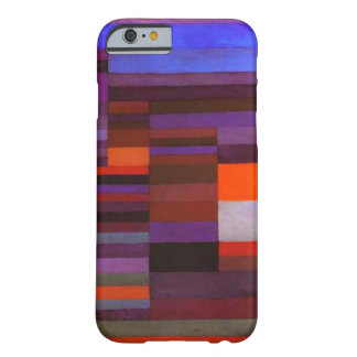 Paul Klee Fire in the Evening iPhone 6 case