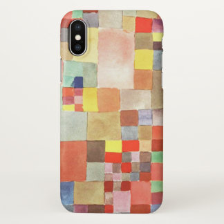 Paul Klee Flora on Sand Watercolor iPhone X Case