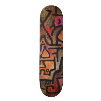 Paul Klee - Forest Witches Skate Board Decks