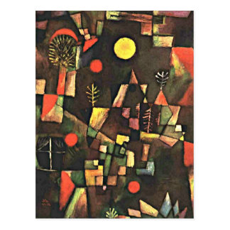 Paul Klee - Full Moon Postcard