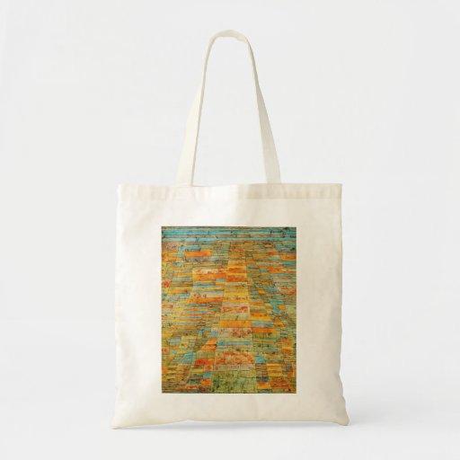 Paul Klee Highways and Byways Tote Bag
