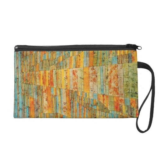 Paul Klee Highways and Byways Wristlet