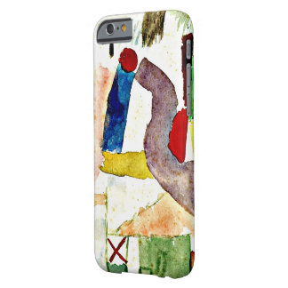 Paul Klee painting - Pathetic Watercolor Barely There iPhone 6 Case