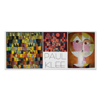 Paul Klee Poster Collage