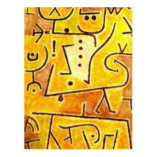 Paul Klee - Red Waistcoat Post Cards
