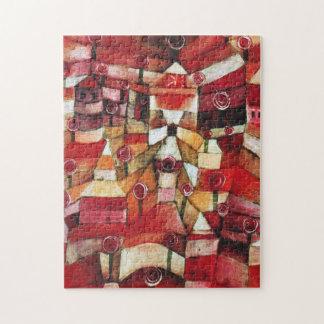 Paul Klee Rose Garden Puzzle