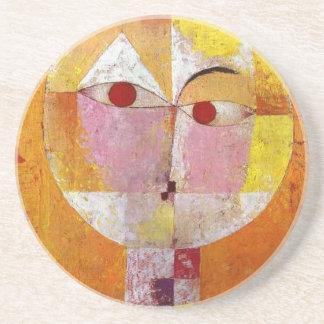 Paul Klee Senecio Painting Coaster