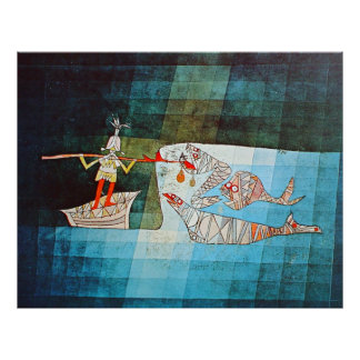 Paul Klee Sinbad The Sailor Poster