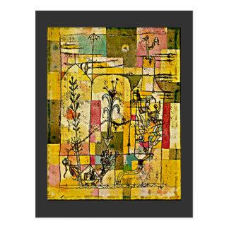 Paul Klee - Tale of Hoffmann Postcard