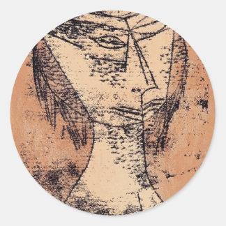 Paul Klee: The Saint of Inner Light Stickers
