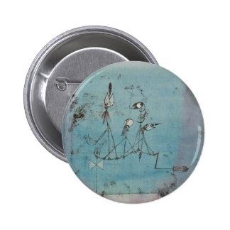 Paul Klee Twittering Machine Button