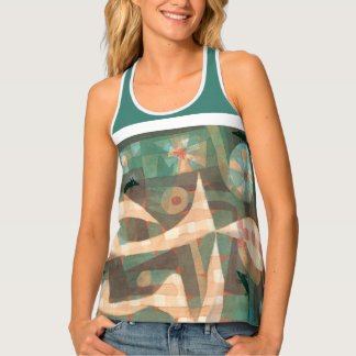 Paul Klee's Barbed Noose and Mice Tank Top