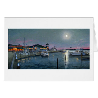 "Paul McGehee ""Alexandria by Moonlight"" Card"