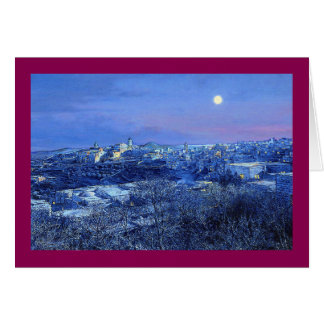 "Paul McGehee ""Bethlehem"" Christmas Card"