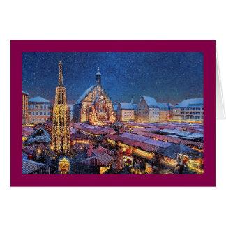 "Paul McGehee ""Christkindlesmarkt"" Christmas Card"