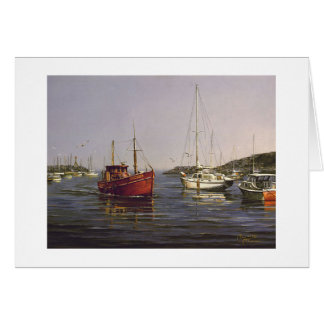 "Paul McGehee ""Entering Rockport"" Card"