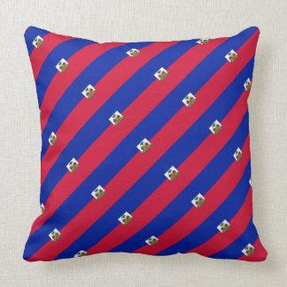 "Paul McGehee ""Haitian Flag"" Pillow"