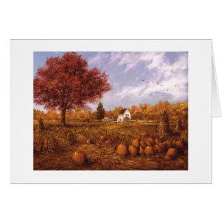 "Paul McGehee ""Halloween Harvest"" Card"