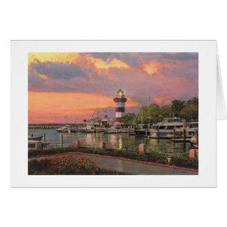 "Paul McGehee ""Hilton Head - Harbour Town"" Card"