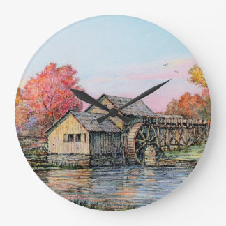 "Paul McGehee ""Mabry Mill"" Clock"
