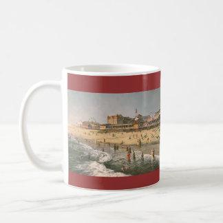 """Paul McGehee """"Ocean City Panorama - 1915"""" Mug"""